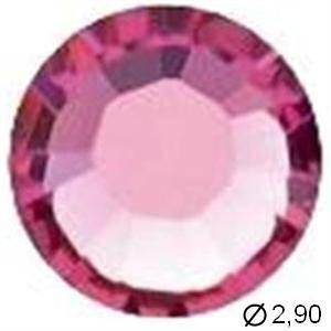 TUBE 10 STRASS G10 ROSE