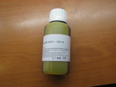 COLORANT JAUNE 834 / yellow acetate dye