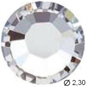 TUBE 10 STRASS A7 CRISTAL