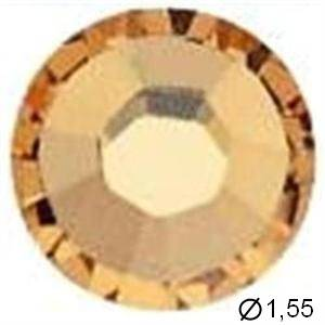 TUBE 10 STRASS D3 LIGHT COL TOPAZ