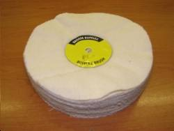 Tampon flanelle polissage touret / Flannel buffer polishing reel