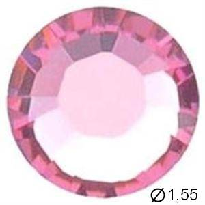 TUBE 10 STRASS G3 LIGHT ROSE