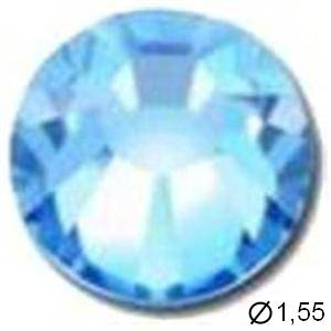 TUBE 10 STRASS E3 AQUAMARINE